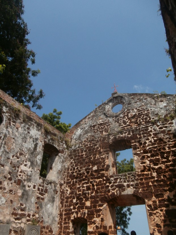 Ruins of St. Paul's Church