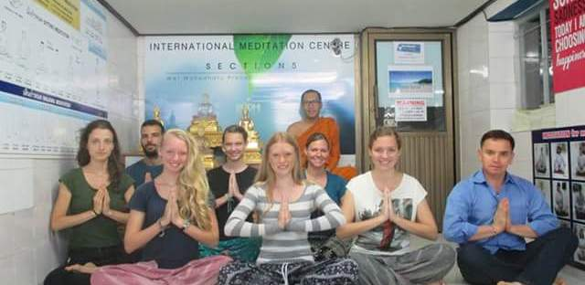Buddhist meditation Bangkok