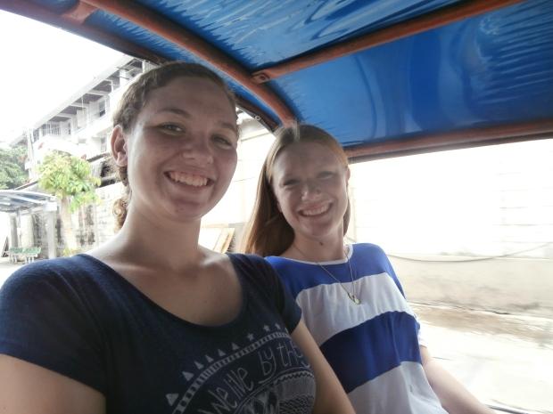 Bangkok tuk tuk ride