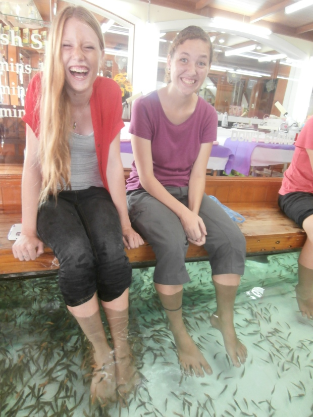 Bangkok fish spa