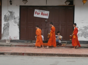 Luang Prabang Morning Alms