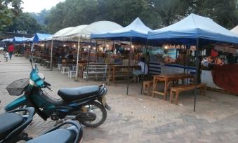Luang Prabang sandwich stalls