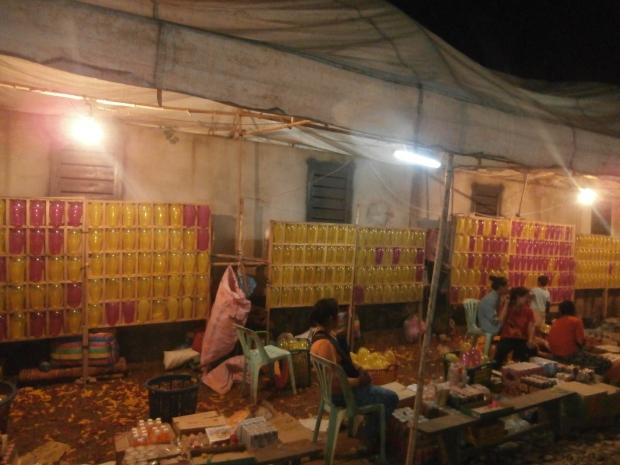 Loy Kratong Carnival Luang Namtha