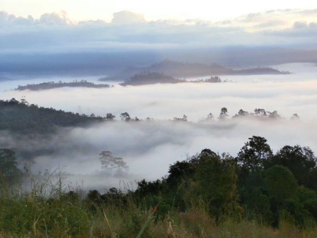 Sea of Clouds Soppong, Thailand
