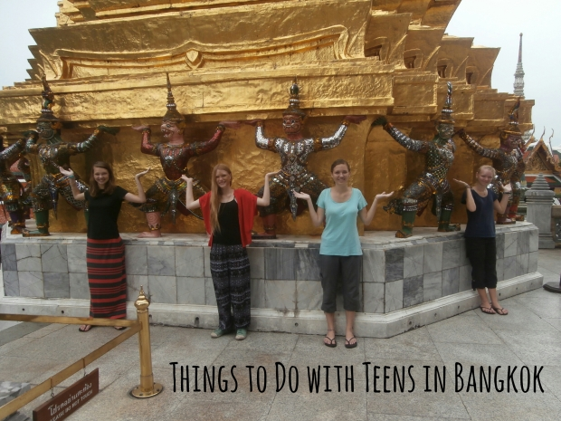 Things to do with teens in bangkok