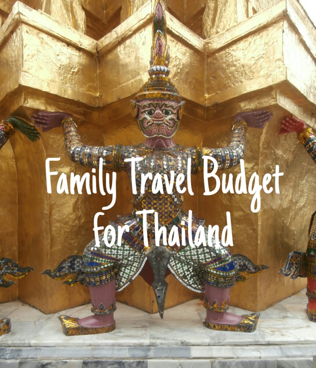 Family travel budget Thailand