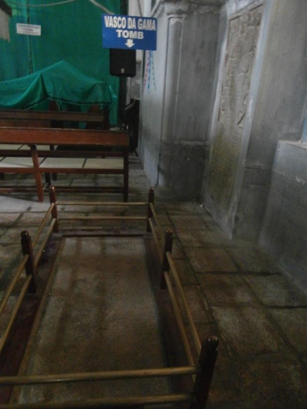 Vasco da Gama's tomb FortbKochi