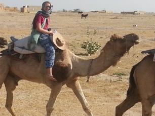 Camel ride Rajasthan
