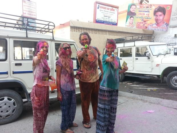 Holi in Rishikesh
